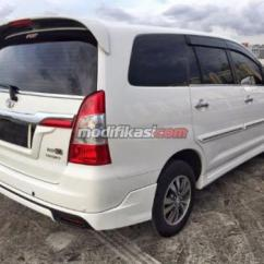 All New Toyota Kijang Innova V Luxury Agya Trd Sportivo 2015 At Putih 11rb Tangan Pertama