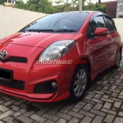 Toyota Yaris Trd Warna Merah Turbo Kit 2013 Automatic