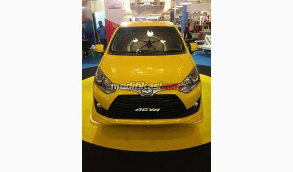 toyota new agya trd velg all yaris 2017 1 2 mt yellow