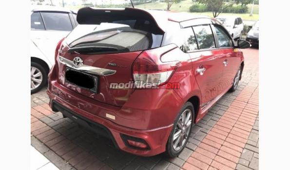 toyota yaris trd merah grand new avanza bahan bakar 2015 s matic warna