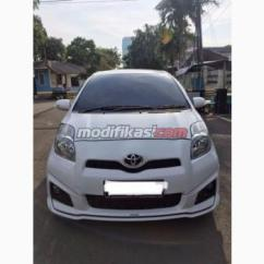 Toyota Yaris Trd White Cutting Sticker Grand New Avanza 2013 Sportivo A T Matic Putih