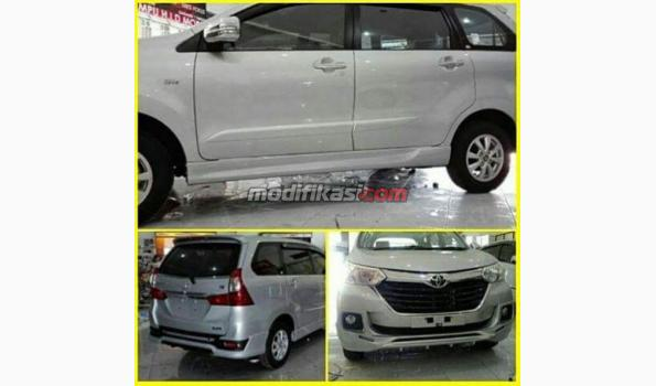 bodykit grand new avanza 2016 1.3 e m/t 2018 body kit plastik