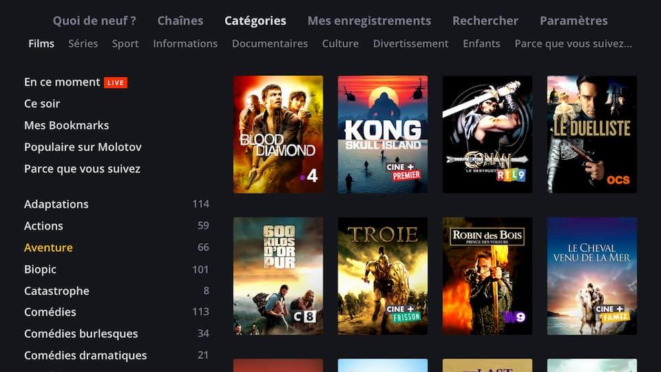 application smart tv samsung pour