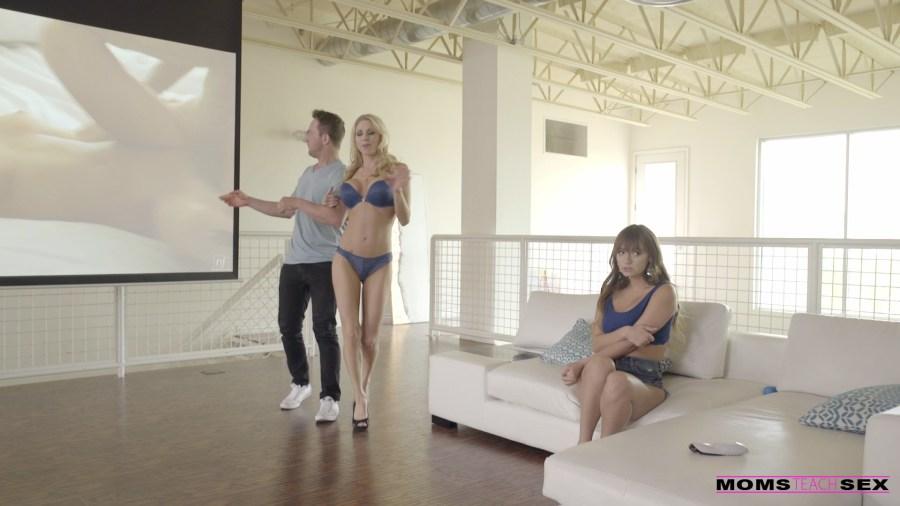 MomsTeachSex.com - Charlotte Cross,Katie Morgan: Stepmoms Sex Advice - S5:E2