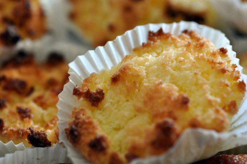 Congolais - Mini gâteaux à la noix de coco