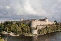 Narva Estonia Russian Border