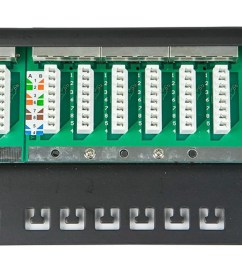cat 6 patch panel wiring wiring diagram z4monoprice spacesaver 19 half u shielded cat6 patch panel 24 ports cat5 patch panel wiring instructions cat 6  [ 1200 x 900 Pixel ]