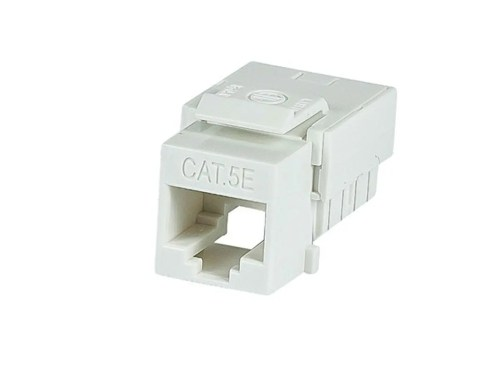 small resolution of monoprice slim cat5e punch down keystone jack white large image 1