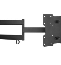 monoprice stable series full motion articulating tv wall mount bracket for tvs 20in to 42in [ 1200 x 900 Pixel ]