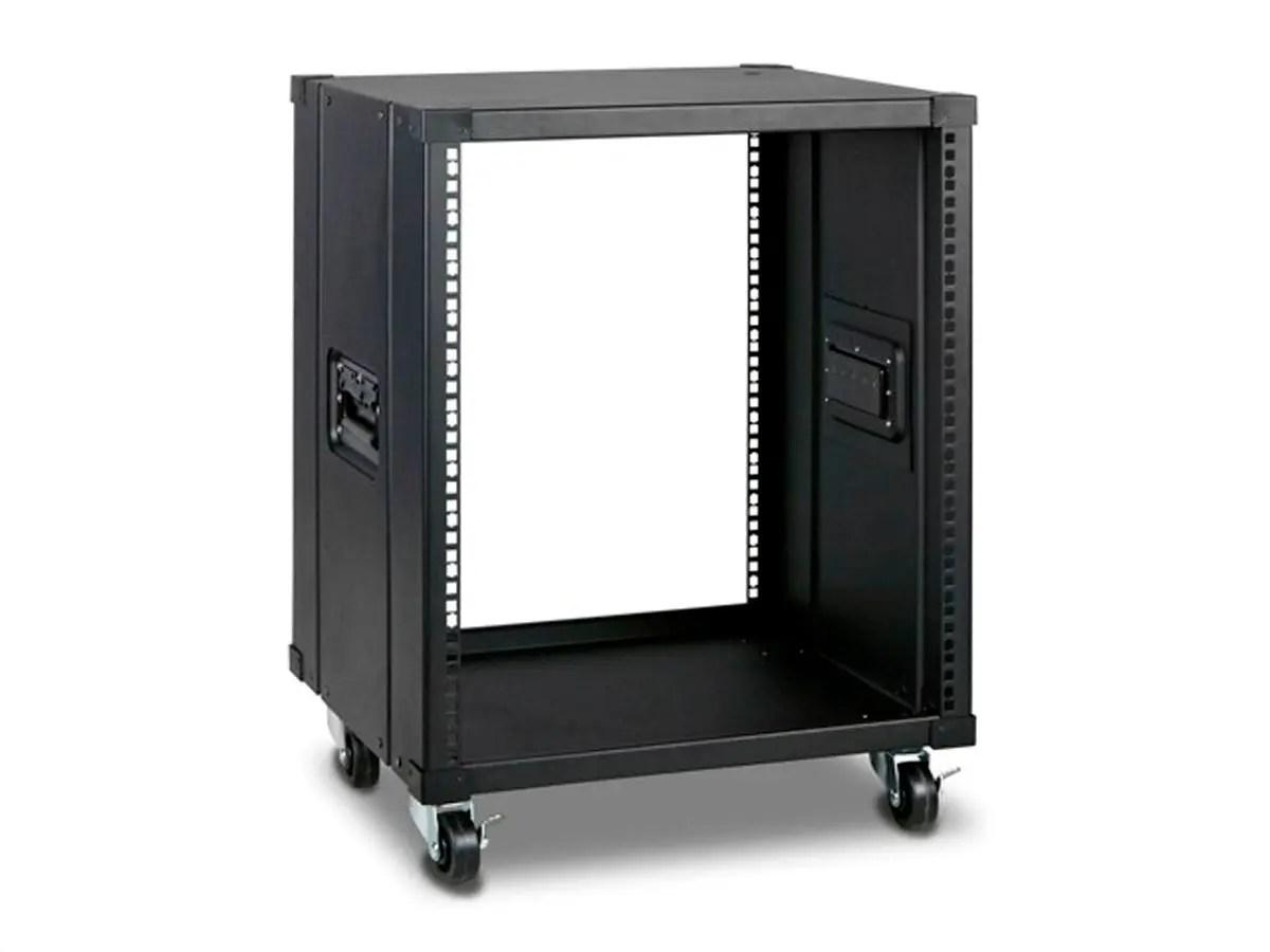 monoprice 12u 450mm depth simple server rack gsa approved