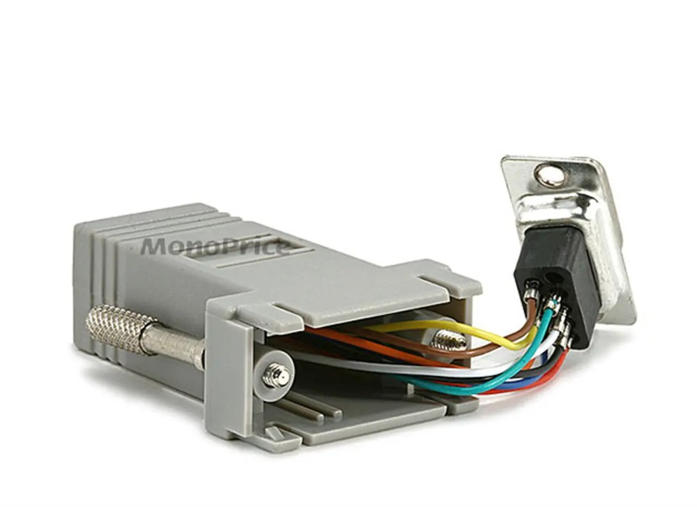 medium resolution of monoprice db9m rj 45 modular adapter monoprice com 3 wire electrical wiring diagram monoprice cable 3 wire wiring diagram