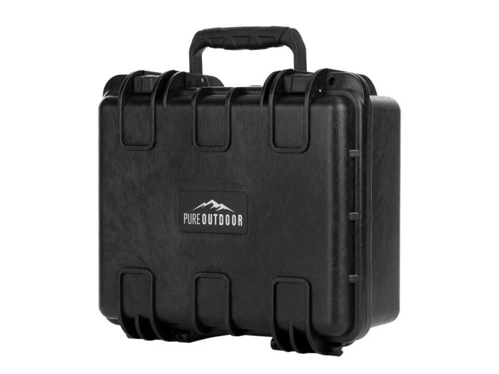 medium resolution of monoprice weatherproof hard case with customizable foam 13 34 x 12 34