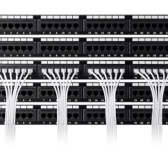 Cat6 Patch Panel Wiring Diagram 1997 Mitsubishi Mirage Radio Monoprice Slimrun Ethernet Cable Snagless