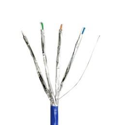 monoprice cat6 ethernet bulk cable solid 550mhz stp cm pure bare [ 1200 x 898 Pixel ]