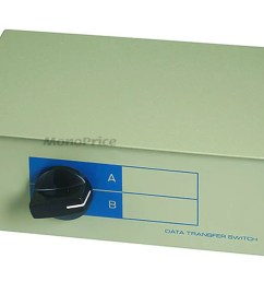 monoprice rj11 rj12 ab 6p6c 2way switch box large image 1 [ 1200 x 900 Pixel ]