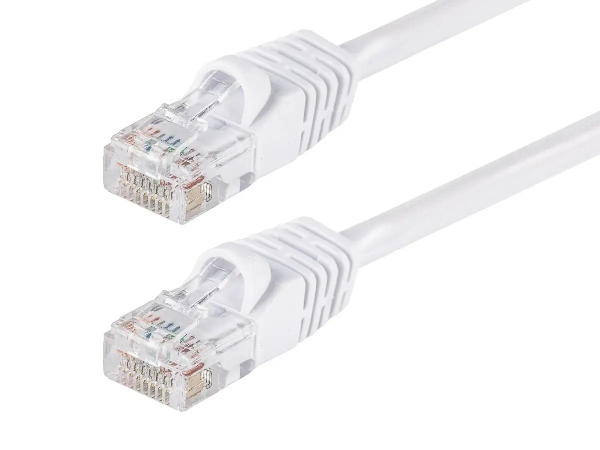 50 ft Ethernet Cable Cat5e Cat5 LAN Patch Network Snagless