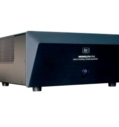 monolith by monoprice 7x200 watts per channel multi channel home theater power amplifier with xlr [ 1200 x 900 Pixel ]