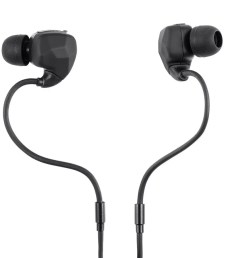 monoprice sweatproof bluetooth wireless earbuds headphones with memory wire mic large image  [ 1200 x 900 Pixel ]