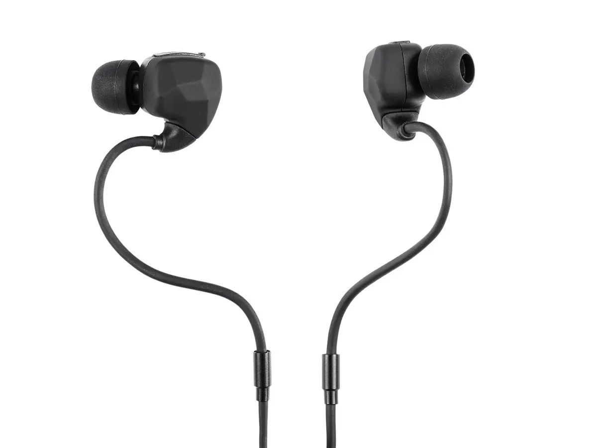 hight resolution of monoprice sweatproof bluetooth wireless earbuds headphones with memory wire mic large image