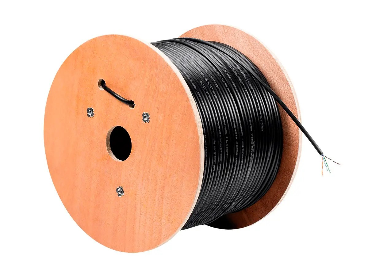 hight resolution of monoprice cat5e ethernet bulk cable solid 350mhz stp pure bare copper wire