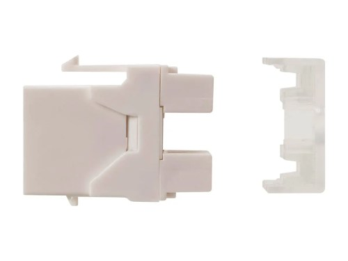 small resolution of monoprice cat6 rj45 180 degree punch down keystone dual idc white small