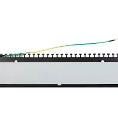 monoprice entegrade series cat6 ftp 19 inch 1u patch panel dual krone idc 24 [ 1200 x 900 Pixel ]