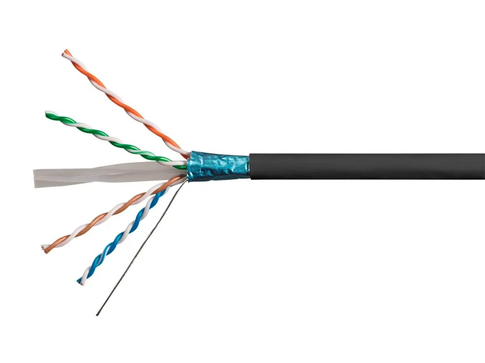 medium resolution of monoprice cat6 ethernet bulk cable solid 550mhz stp cmr riser rated