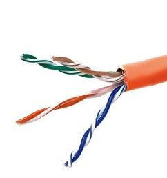 monoprice cat5e ethernet bulk cable solid 350mhz stp cmr riser rated [ 1200 x 900 Pixel ]