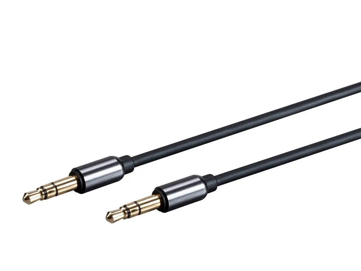 Monoprice Onyx Series Auxiliary 3 5mm Trs Audio Cable 3ft