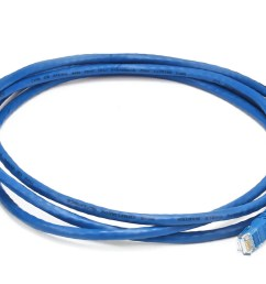 monoprice cat6 ethernet patch cable snagless rj45 stranded 550mhz utp pure [ 1200 x 900 Pixel ]