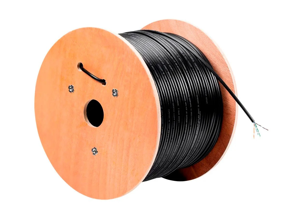 hight resolution of monoprice cat5e ethernet bulk cable solid 350mhz utp pure bare copper wire