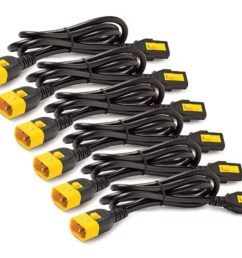 apc power cord kit 6 ea locking c13 to c14 0 6 [ 1200 x 900 Pixel ]