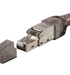 monoprice entegrade series cat7 or cat6a rj 45 field connection modular plug shielded for [ 1200 x 900 Pixel ]
