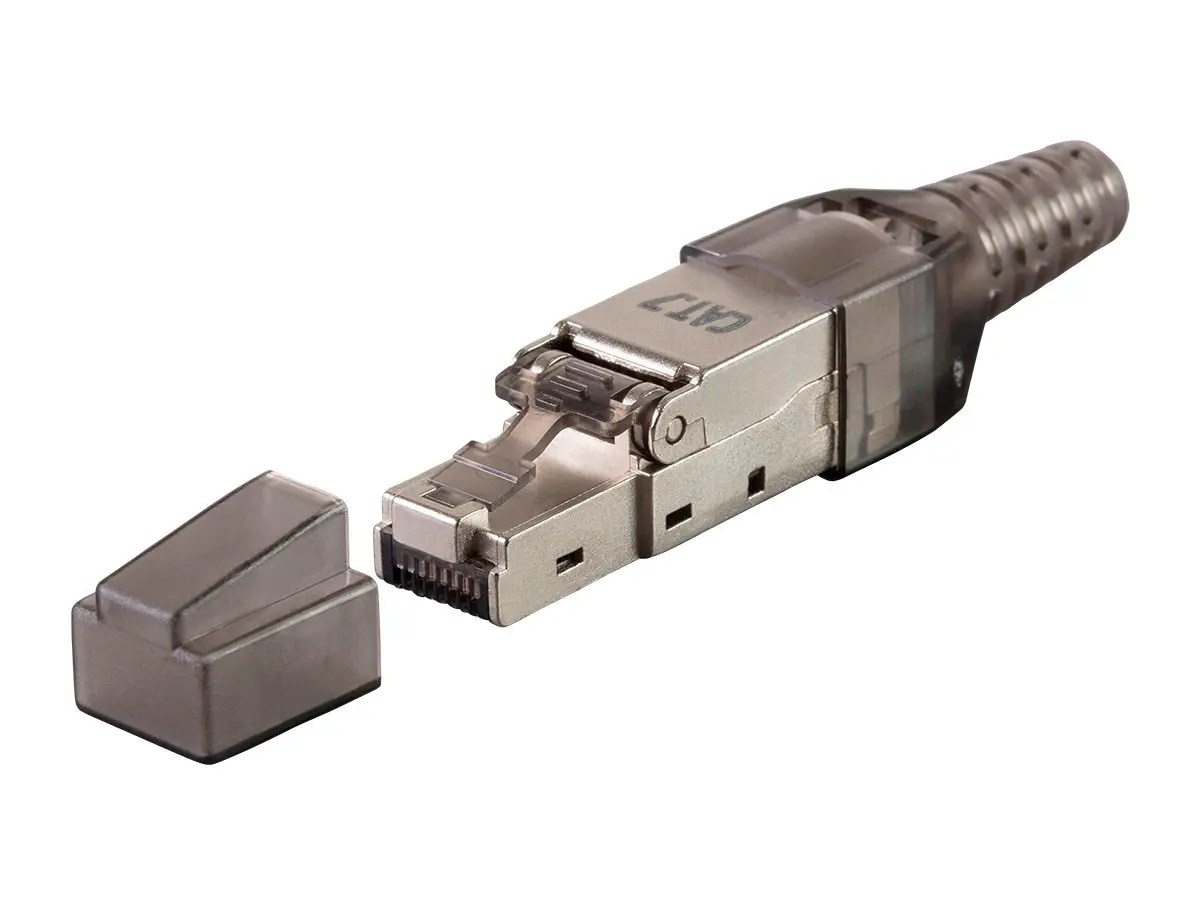 hight resolution of monoprice entegrade series cat7 or cat6a rj 45 field connection modular plug shielded for