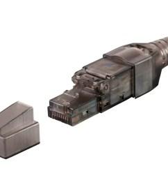monoprice entegrade series cat6 rj 45 field connection modular plug unshielded for 23  [ 1200 x 900 Pixel ]