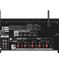 pioneer vsx 832 5 1 ch dolby atmos dts x 4k ultra [ 1200 x 900 Pixel ]