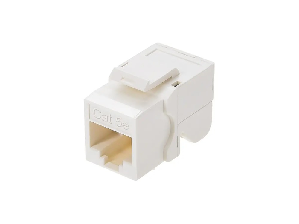 medium resolution of monoprice cat5e rj 45 toolless keystone jack in white monoprice com wall ethernet plate wiring diagram cat5e jack diagram
