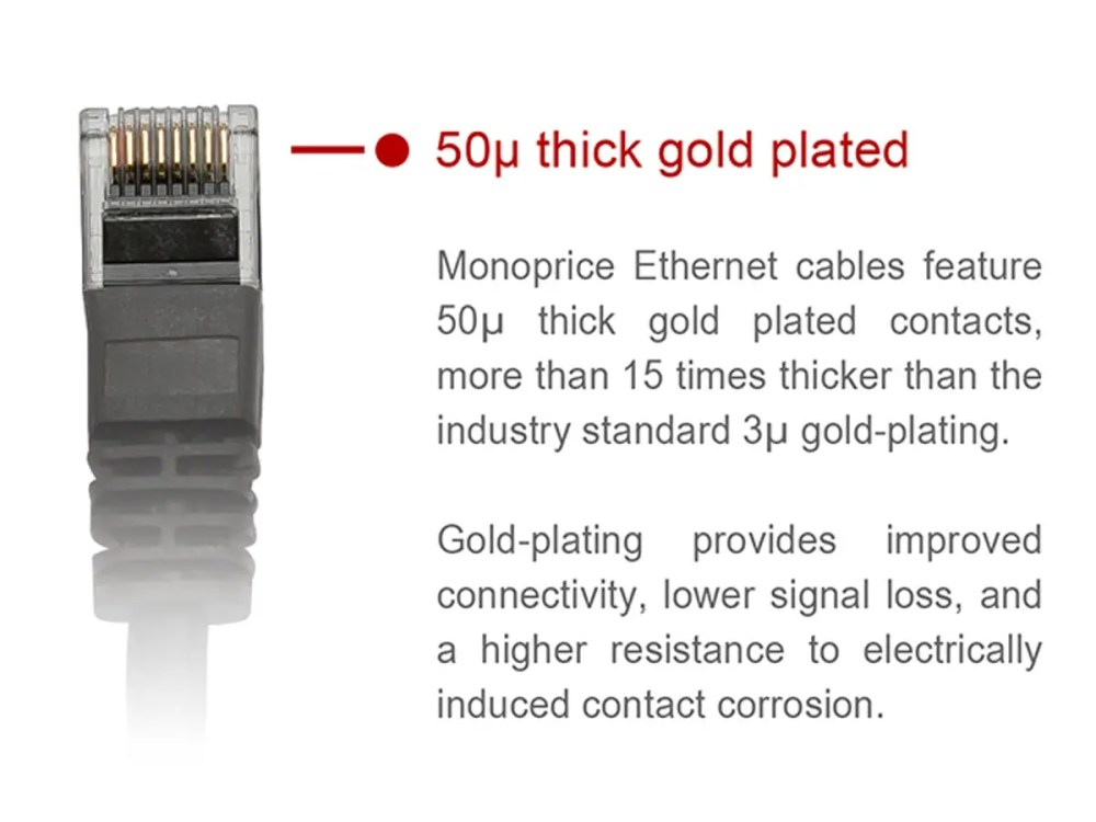 medium resolution of monoprice cat5e ethernet patch cable snagless rj45 stranded 350mhz utp pure