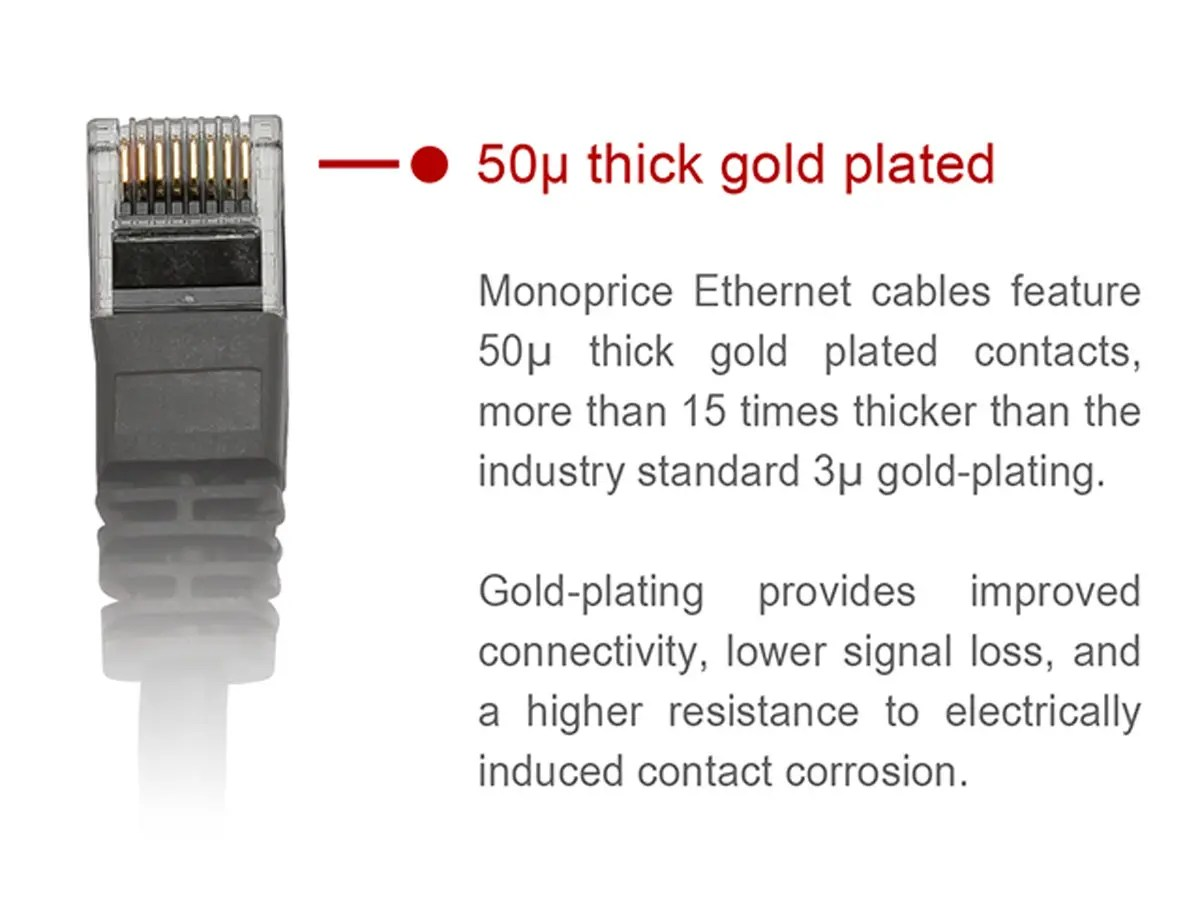 hight resolution of monoprice cat5e ethernet patch cable snagless rj45 stranded 350mhz utp pure