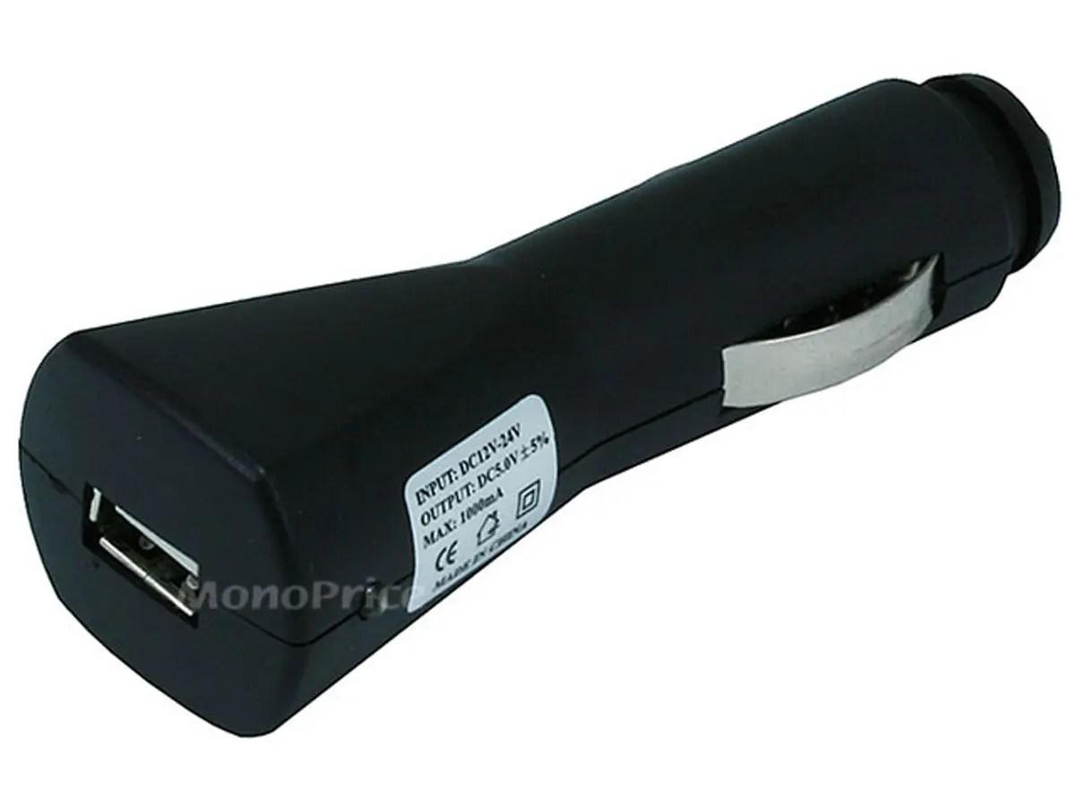 Cigarette to USB adaptor