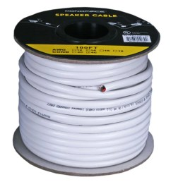 monoprice access series 14awg cl2 rated 4 conductor speaker wire 100ft small  [ 1200 x 900 Pixel ]