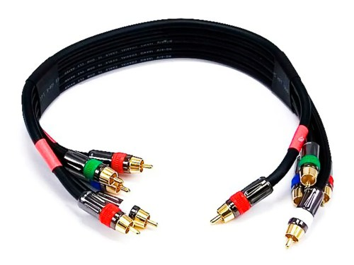 small resolution of monoprice 1 5ft 18awg cl2 premium 5 rca component video audio coaxial cable