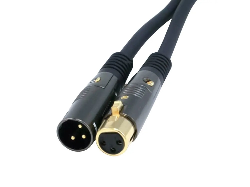 medium resolution of monoprice 25ft premier series xlr male to xlr female 16awg cable gold plated