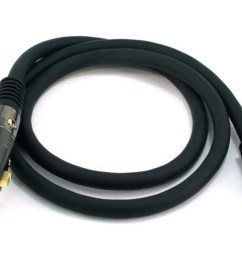 monoprice 3ft premier series xlr female to rca male cable 16awg gold plated  [ 1200 x 900 Pixel ]