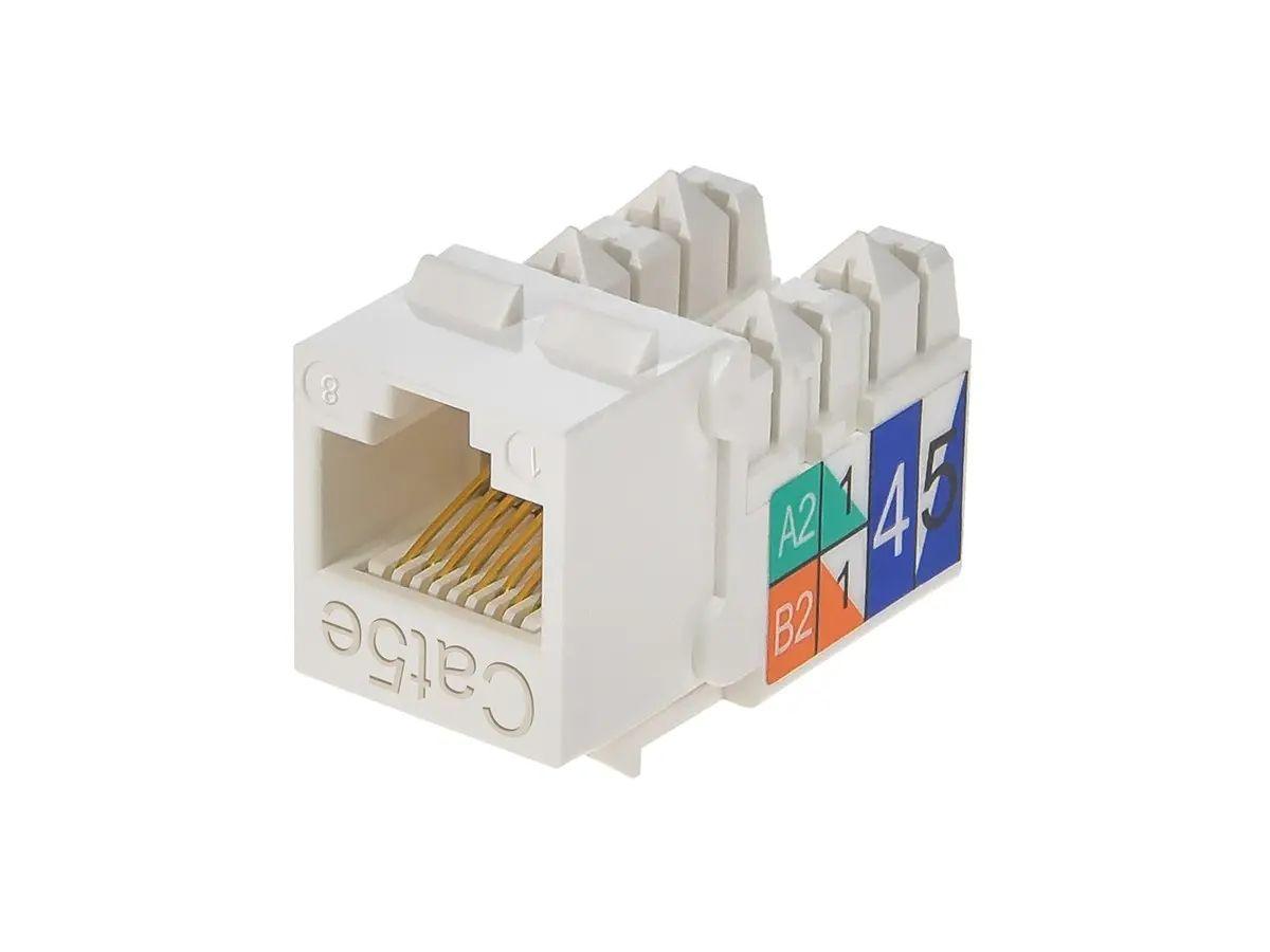 modular rj45 wall jack wiring diagram for