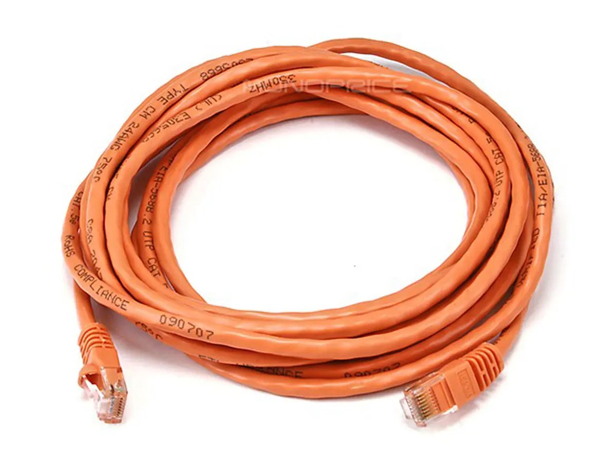 hight resolution of an ethernet crossover cable is used to connect two pcs directly together without using a hub or switch in between monoprice cat5e fixed length network