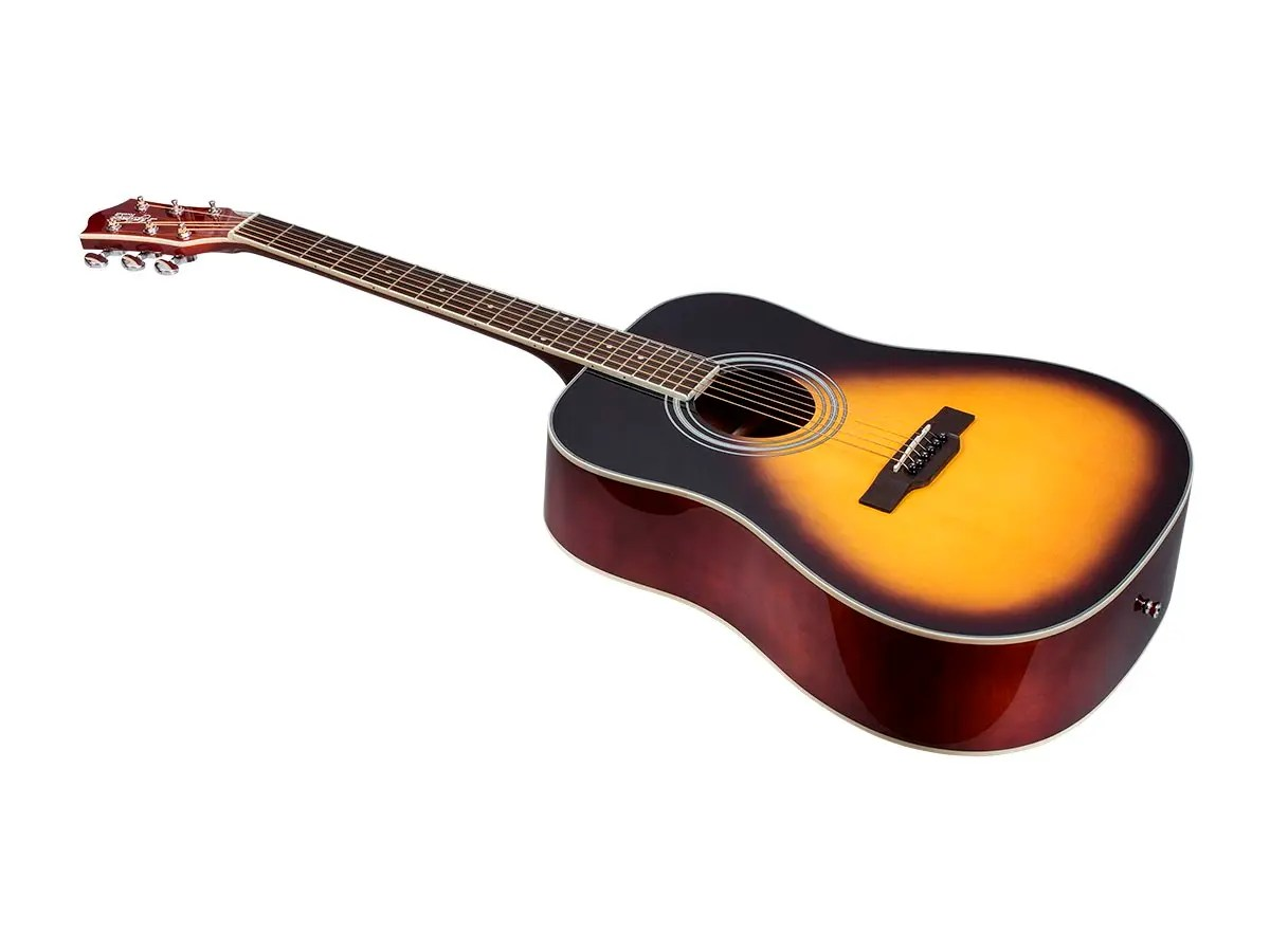 hight resolution of monoprice idyllwild foothill acoustic guitar with gig bag vintage taylor guitar wiring harness