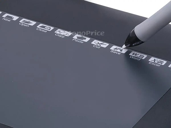 10x6.25 Inches Graphic Drawing Tablet With 8 Hot Key