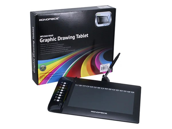 10x6.25 Inches Graphic Drawing Tablet With 8 Hot Key - Legacy Systems Mac Osx 10.7.5