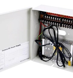 monoprice 16 channel cctv camera power supply 12vdc 10amps large image  [ 1200 x 900 Pixel ]